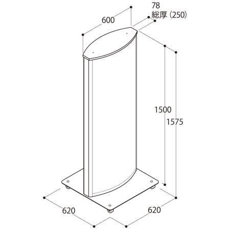 ■ADO-810-2-LEDの寸法図