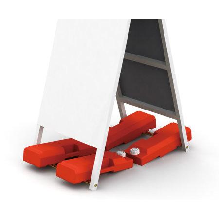 ■AサインSは、看板重し「関取くん」と組み合わせてご利用いただくとより有効です。