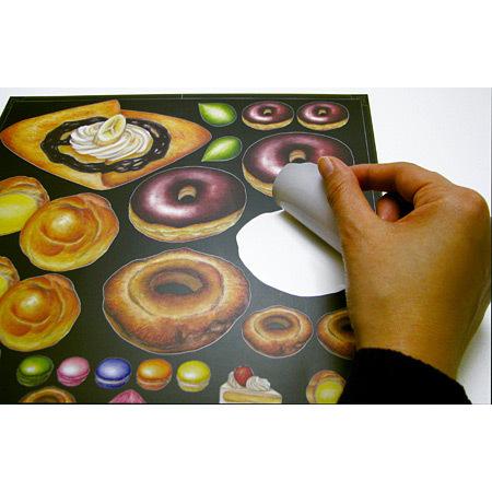 ■デコレーションシール共通イメージ ※本商品の柄は上部商品写真でご確認下さい。
