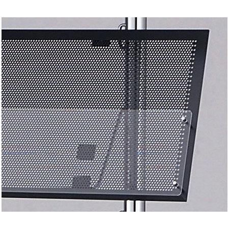 ■MR-13・23・25用棚板部/棚板部にパンチングとアクリルを採用。重量感のあるマガジンラック。