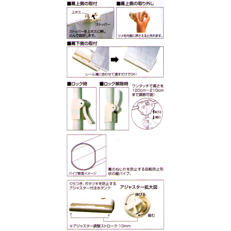 ●詳細説明/スライド式バナースタンド