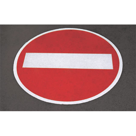 ■使用例/道路表示シート とまれ
