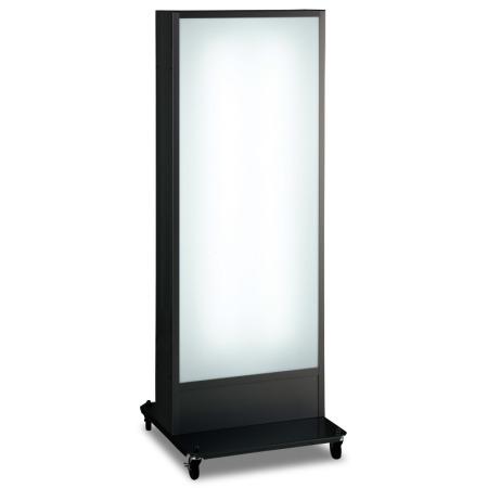 ■ADO-910NE-LED・ブラックの本体写真。※板面のデザインは含まれておりません。