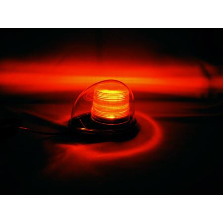 赤色車載警告灯の点灯イメージ