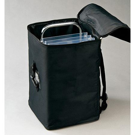 持ち運びに便利な収納バッグ付きです。