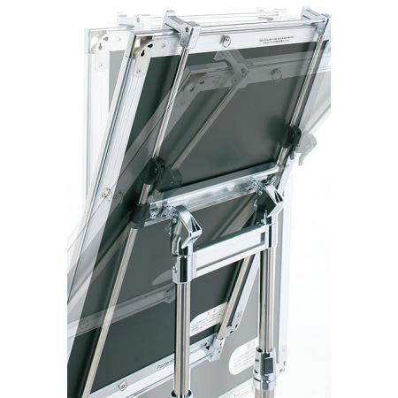 ■大型角度調節機能:新型の角度調節機能により、0・20・40・60度の角度にガッチリ固定できます。