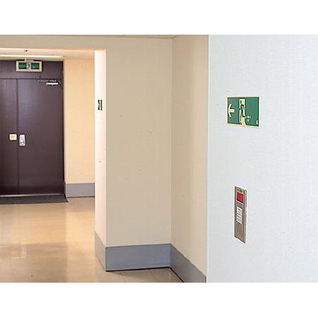 ■使用例/避難口誘導標識(蓄光)