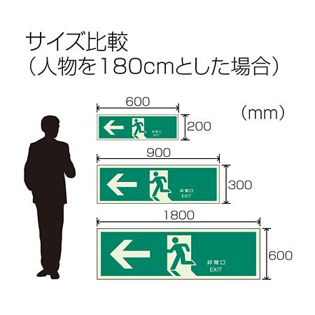 ■人のサイズと比較した場合の比較表