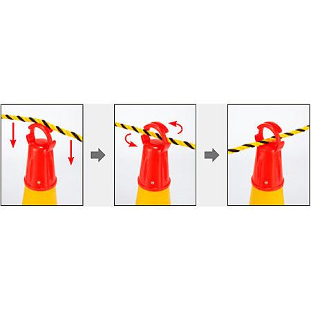 ■ロープ差し込み手順