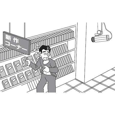 ■店舗での万引き対策に!