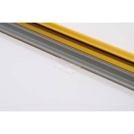■透明保護板の取り外しに便利なつまみ付き
