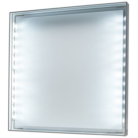 ■エッジライト方式LEDタイプの表示面を外したところ