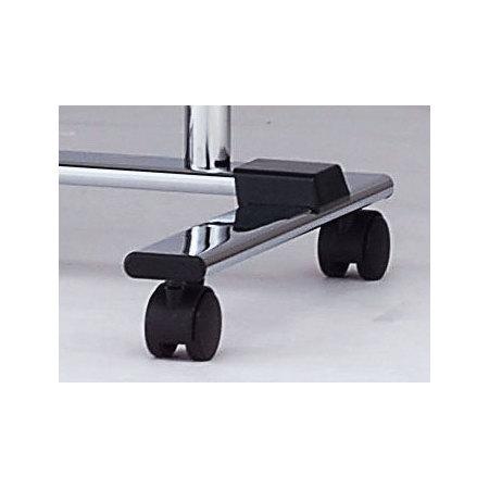 ■MR-13・23・25用キャスター部/φ50キャスターと20×68楕円パイプで本体をしっかり支えます。