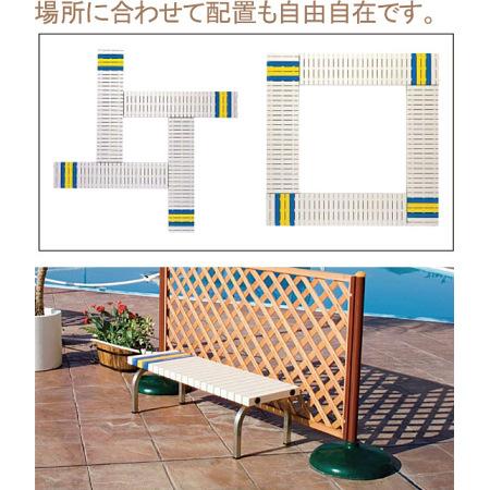 ホームベンチ ステンレス製 使用例のご紹介
