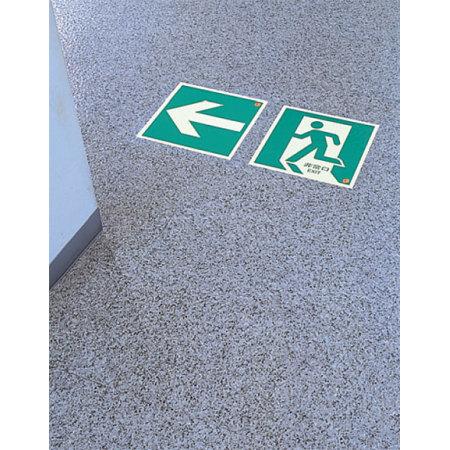 ■使用例/避難口・通路誘導標識(蓄光ステッカー)