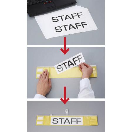 ■お客様がパソコンで製作したオリジナル文字の用紙を差し込めます。