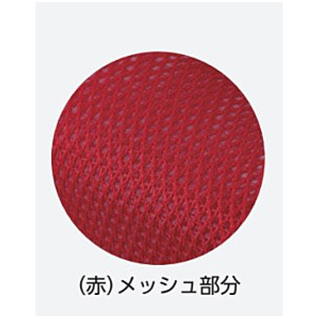 ■メッシュ部(赤色)拡大写真