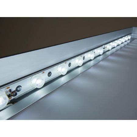 ■両面用の内照仕様は、高輝度LEDを使用したエッジライト方式を採用しています。
