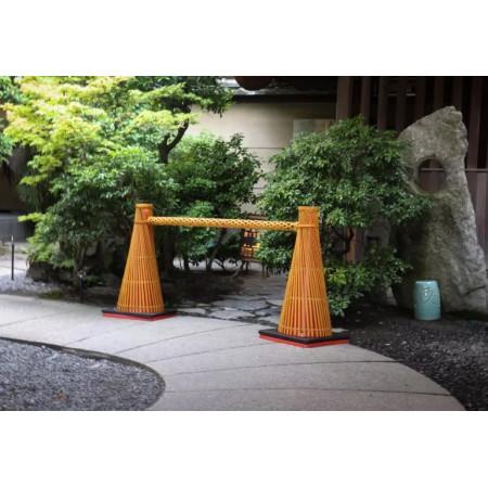 和コーン・竹製コーンバーの使用例5