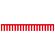 紅白幕 トロピカル 高さ900mm×4間(幅7200mm)(23943)