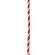 紅白幕紐 紐 6mm径 2間用(4.6m)(23949)