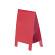 テーブルA POP 両面仕様 (1枚入) Mサイズ カラー:レッド (56937RED)
