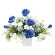 アプローズ (壁掛タイプ) (造花) 高さ32cm 光触媒 (844A65)