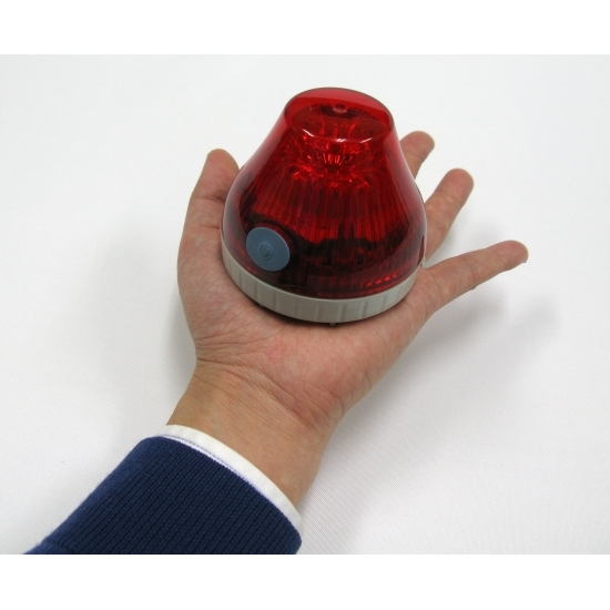 手の平サイズの回転灯です。