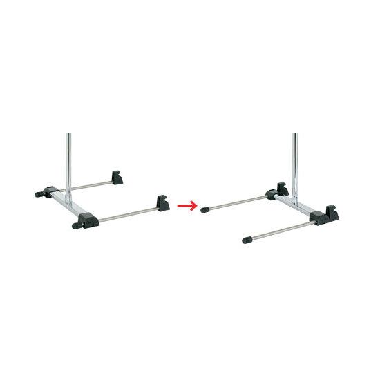 ●スライドベース・・・スライド脚を前後に移動できるためバナー前傾角度を調節できます。