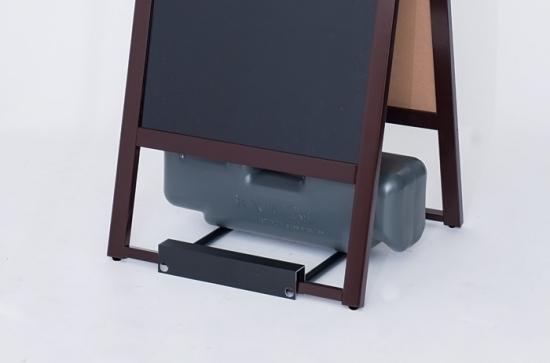 注水ウエイトを載せられるように形状を変更致しました。別売りのウエイトとウエイト置き台をご利用いただけます。