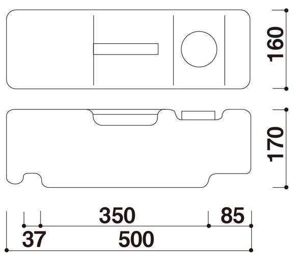 バリウエイト 寸法図