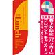 Rのぼり 棒袋仕様 日替ランチ カラー:レッド 21319 [プレゼント付]