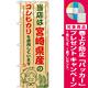 ご当地のぼり旗 宮崎県産 内容:コシヒカリ (SNB-950) [プレゼント付]