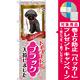 のぼり旗 トイプードル ブラック 入荷 (GNB-2462) [プレゼント付]