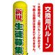 (塾向け) 新規 生徒募集 エアー看板(高さ3M)専用バルーン ※土台別売 (19114)