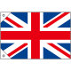 販促用国旗 イギリス サイズ:ミニ (23670)