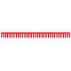 紅白幕 トロピカル 高さ700mm×5間(幅9000mm)(23940)