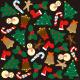 イベント(2) クリスマス 看板・ボード用イラストシール (W285×H285mm)