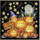 ハロウィン かぼちゃ ボード用イラストシール (68541)