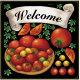 トマト・リボン ボード用イラストシール (68560)