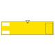 ビニール製無地腕章 (反射タイプ) カラー:反射黄 (140303)