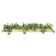 【送料無料】ウットボックズSL (人工観葉植物) 高さ18cm 光触媒機能付 (938A150)