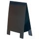 テーブルA POP 両面仕様 (1枚入) Lサイズ カラー:ブラック (56938BLK)