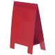 テーブルA POP 両面仕様 (1枚入) Lサイズ カラー:レッド (56938RED)