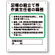 作業主任者職務板 足場の組立等 (356-04B)