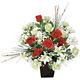 ロディオローズ (造花) 高さ40cm 光触媒 (48A50)