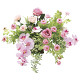 【送料無料】クリスティピンク (壁掛タイプ) (造花) 高さ50cm 光触媒 (751A100)