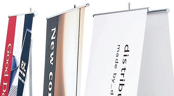 バナースタンド看板のイメージ